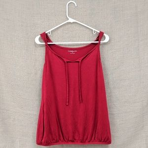 Kohl's Croft&Barrow Red Tank Top